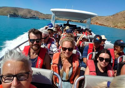 Boat Ride to the Horizontal Falls