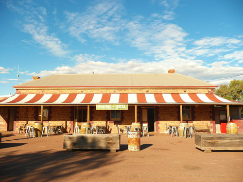 Prairie Hotel as an overnight stop on our Arkaroola Tours