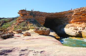 Talia Caves a great example of the beautiful limestone coast along the Eyre Peninsula