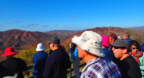 Spectacular Views of Arkaroola
