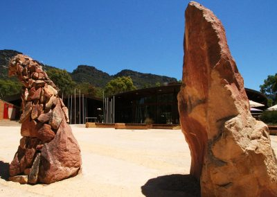 Brambuk Culture Centre in Halls Gap