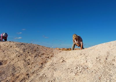 Noodling for Opal in Coober Pedy