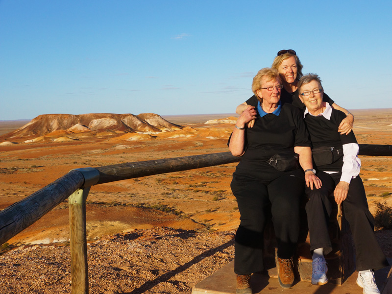 Coober Pedy underground mine tour and museum on day 2 of our Lake Eyre Tour.