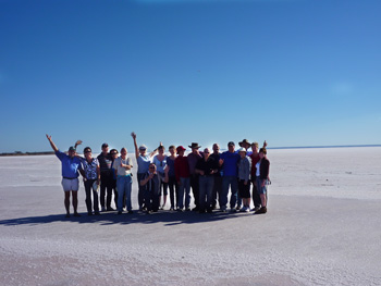 Walk on Lake Eyre
