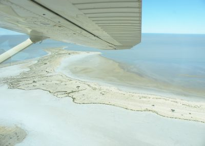 Flights over Lake Eyre