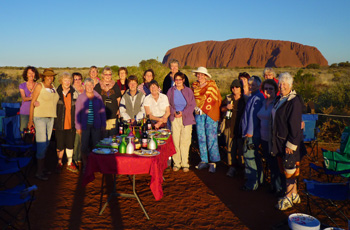 Outback Tours in small groups