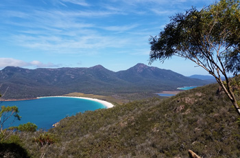 Wineglass Bay Lookout at Freycinet
