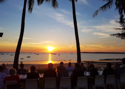 Darwin Sunset Dinner on Group Tours