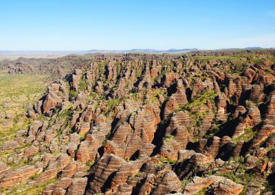 Arial View of Kimberley Bungle Bungles