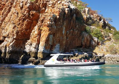 Fast Jet Boat at the Horizontal Falls