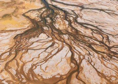 Arial View of Lake Eyre Basin