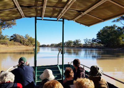 Cooper Creek Cruise at Innamincka