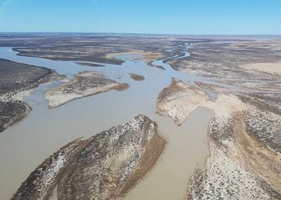 Flood Waters making its way to Lake Eyre