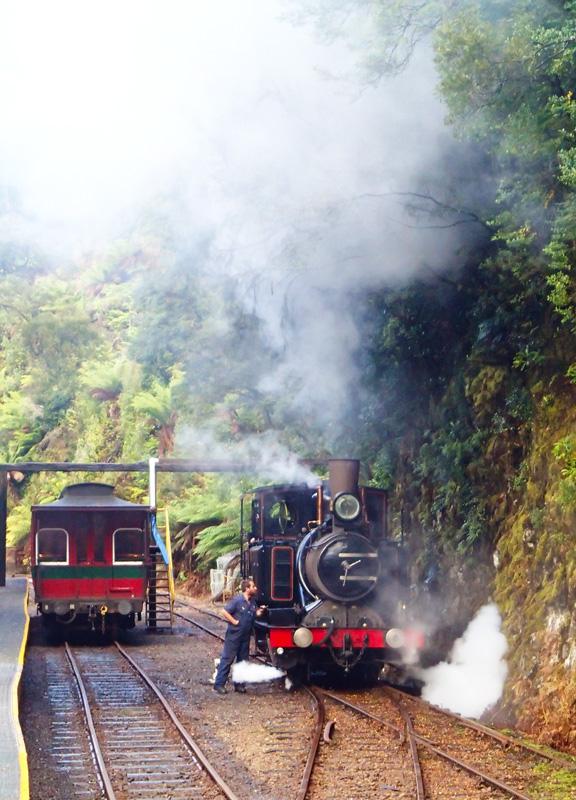 Queenstown Railway Train
